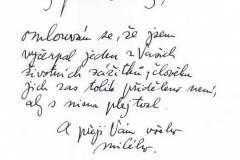 reakce Miloše Formana na můj dopis