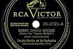 Šavlový tanec jako boogie-woogie