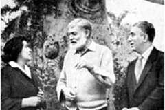 Chačaturjan s Hemingwayem