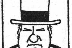 W.C.Fields jak jsem ho kdysi kreslil