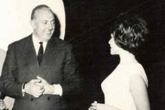 Setkání J.Tatiho se  S.Daníčkovou