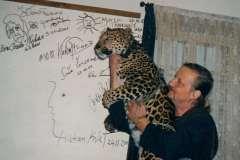 Jaromír a Nova v Šemanovicích 2002