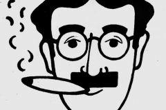 Groucho Marxe jsem také kreslil