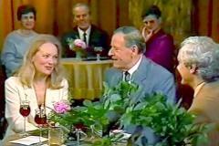Barbara Polomská s Josefem Bekem v Kavárničce